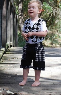 Jasper Vest and Shorts for Boys