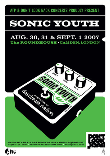 DLB 'Sonic Youth - Daydream Nation' poster (Kii Arens) London