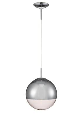 Miranda Medium Ball Pendant 1 Light E27 Mirrored