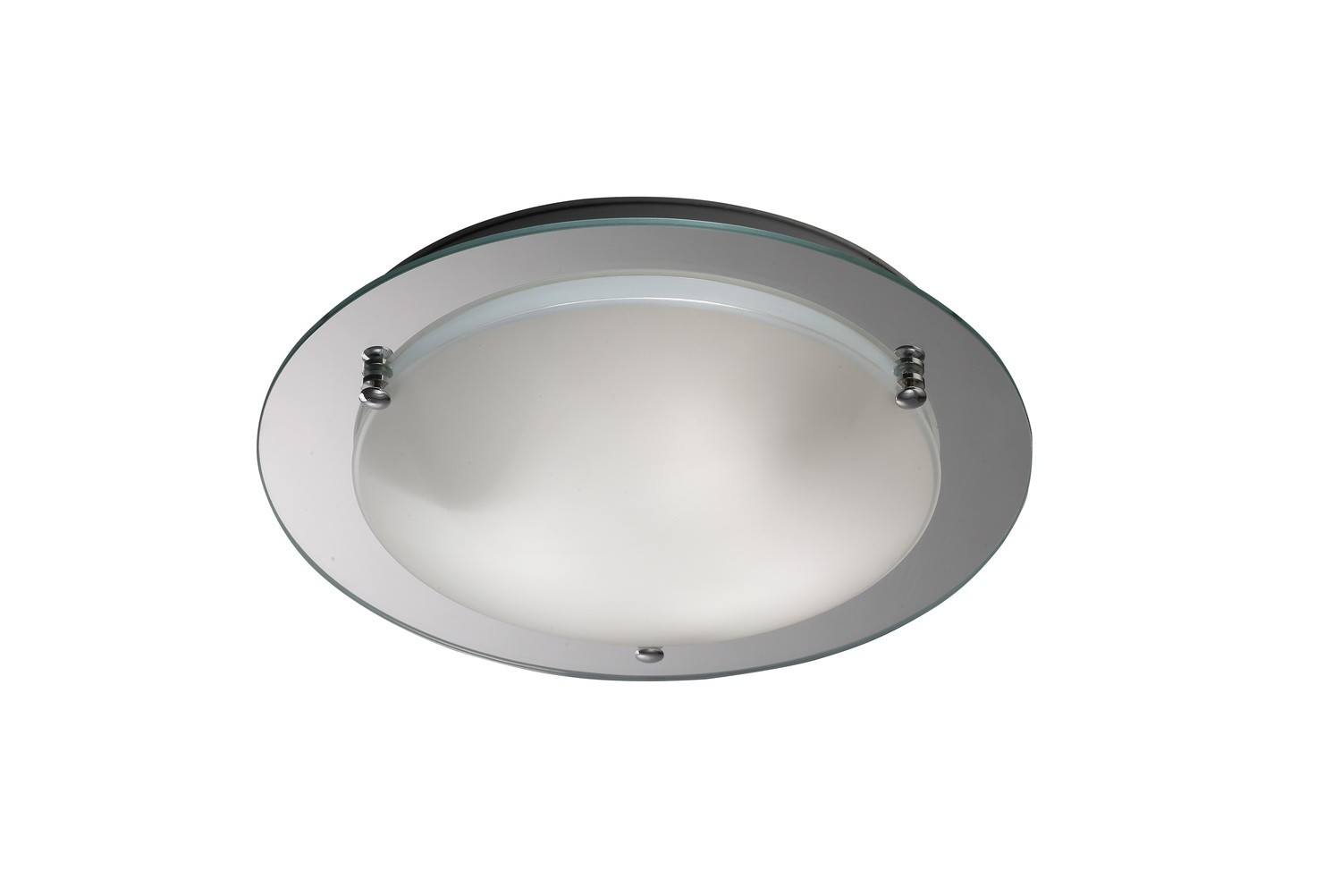 Brooklyn Ceiling, 450mm Round, 3 Light E27 Polished Chrome