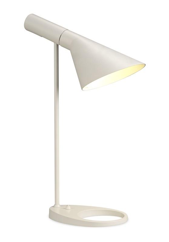 Venezia Table Lamp 1 Light Matt White
