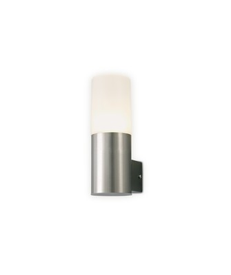 Alpin Upward Lighting Cylinder Wall Lamp, 10W LED IP44, Ext/Interior, 4000K