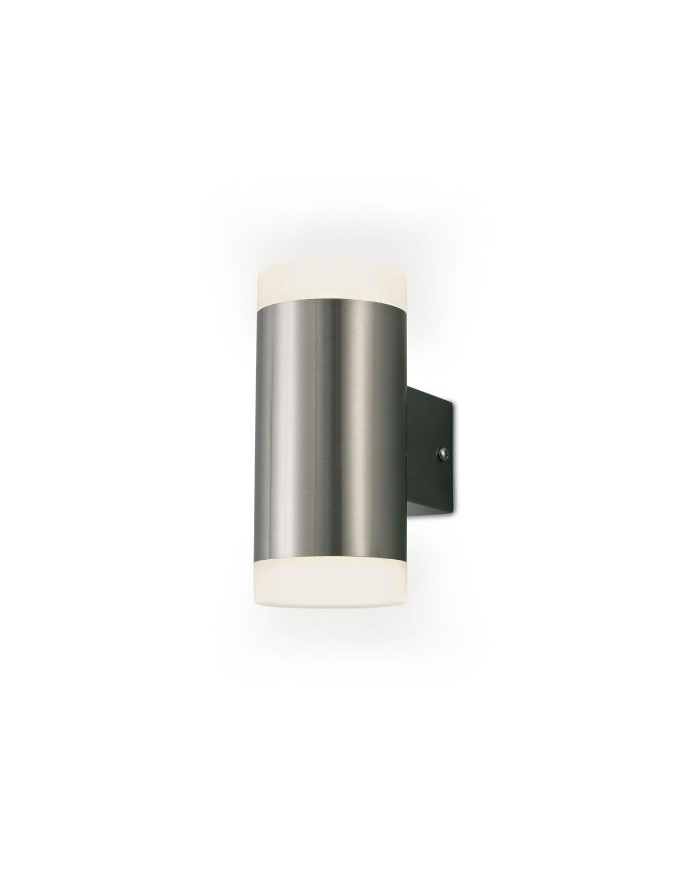 Alpin Up & Downward Lighting  Wall Lamp, 2x4W LED IP44 4000K