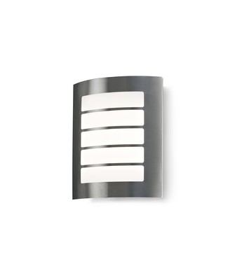 Allegra Flush Wall Lamp 216mm x 178mm With Rectangular Slot Cover, 14W LED IP44, Ext/Interior, 4000K