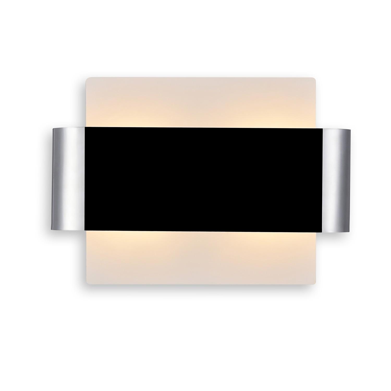 Damo 2 Light G9 Flush Fitting, White Base With Polished Chrome Centre Band