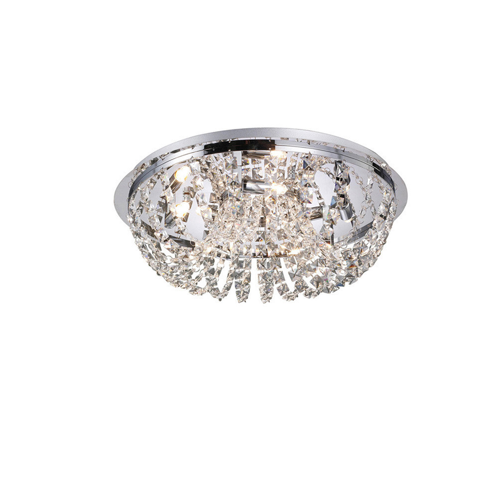 Cosmos Ceiling 5 Light Polished Chrome/Crystal