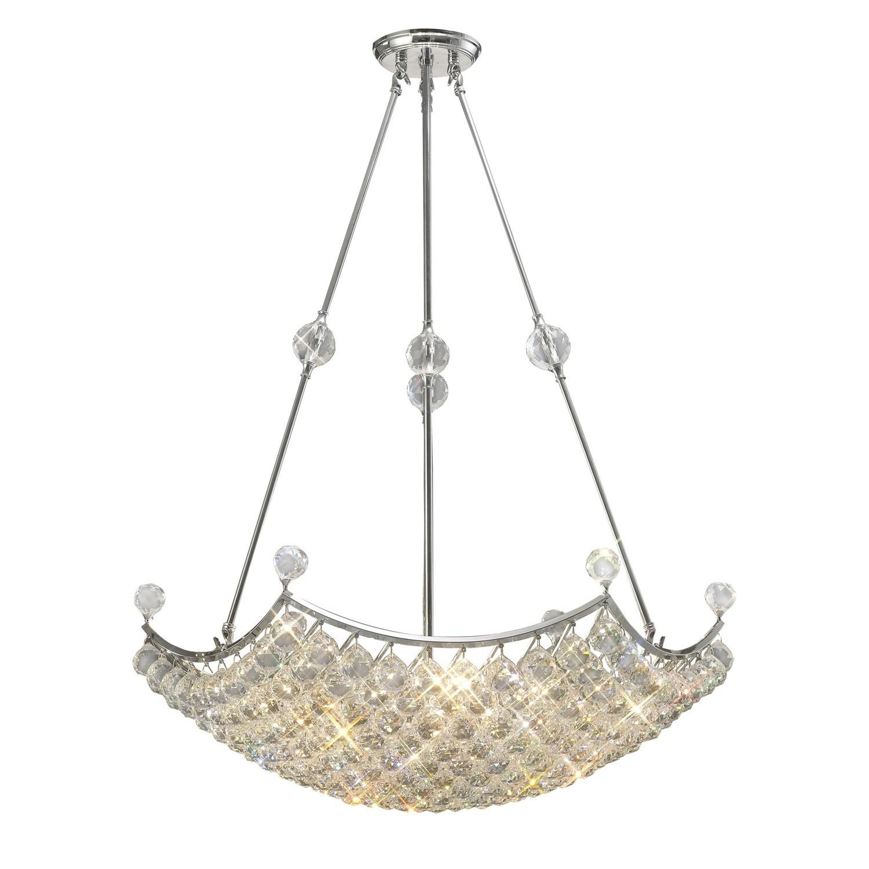 Cesto Pendant Grand 12 Light Polished Chrome/Crystal