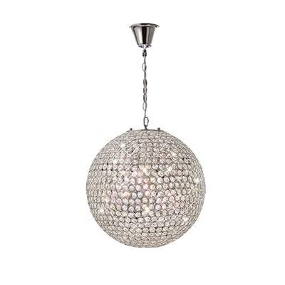 Ava Pendant 7 Light Crystal