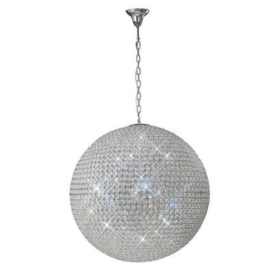 Ava Pendant 12 Light / Crystal