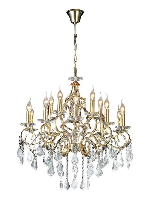 Torino Pendant 15 Light Crystal