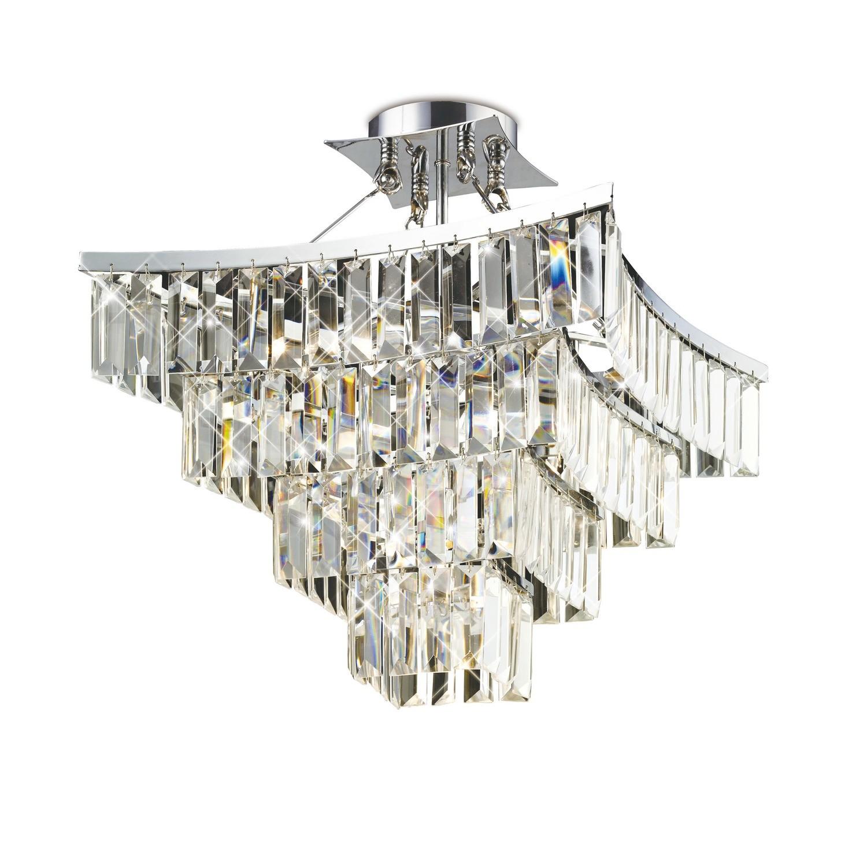 Gianni Pendant 9 Light Polished Chrome/Crystal