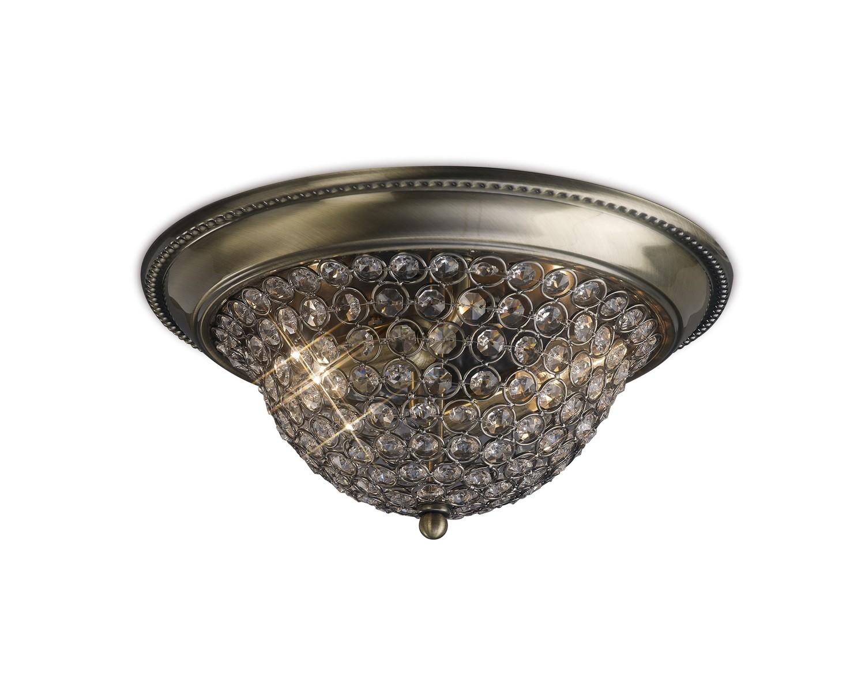 Paloma Ceiling Medium 2 Light E14 Crystal