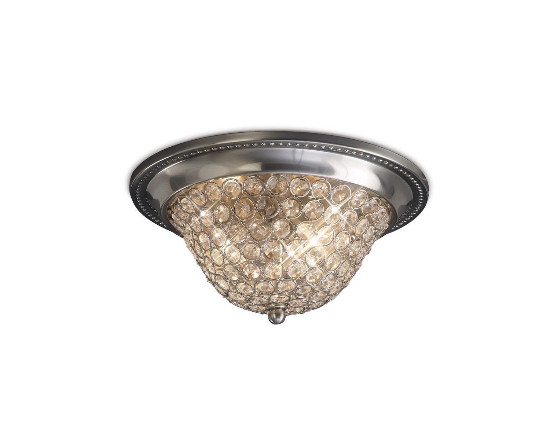 Paloma Ceiling Small 2 Light E14 Crystal