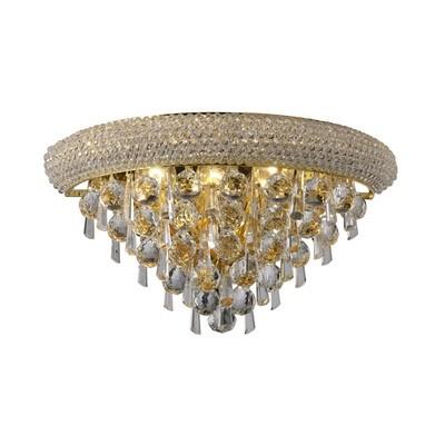 Alexandra Wall Lamp Medium 3 Light French Gold/Crystal