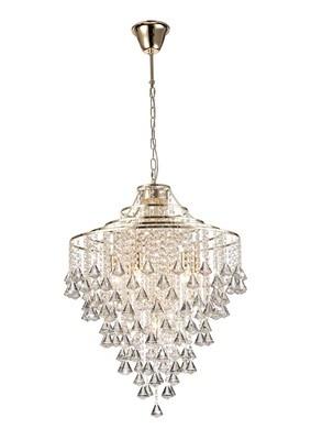 Inina Pendant 7 Light E14 French Gold/Crystal