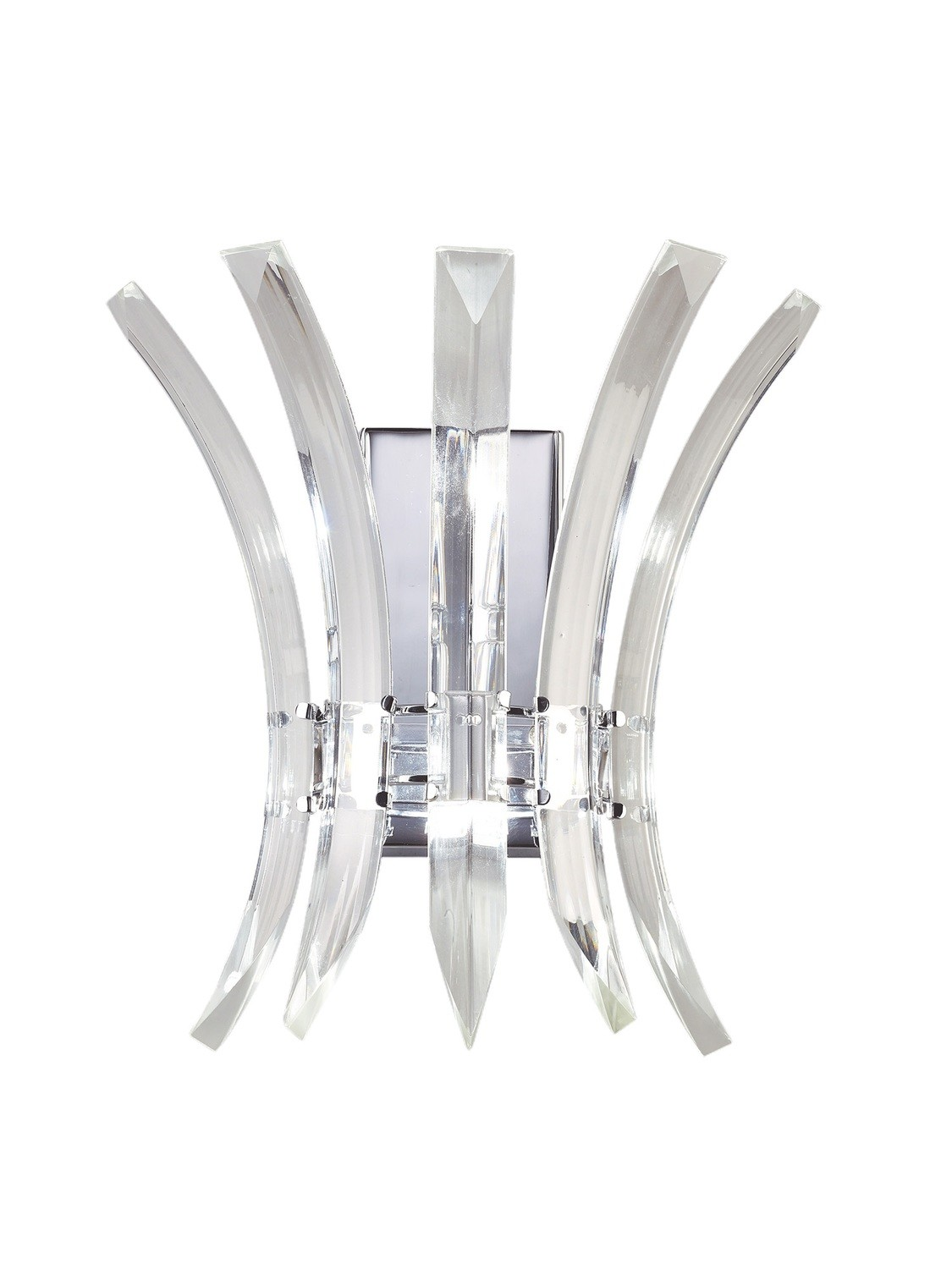 Sinclair Wall Lamp 2 Light Polished Chrome