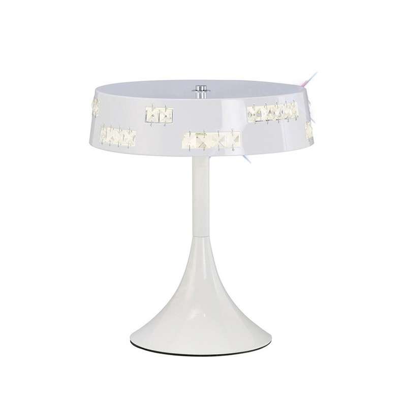 Phoenix Table Lamp 18 X 0.5W LED 3600K White/Crystal