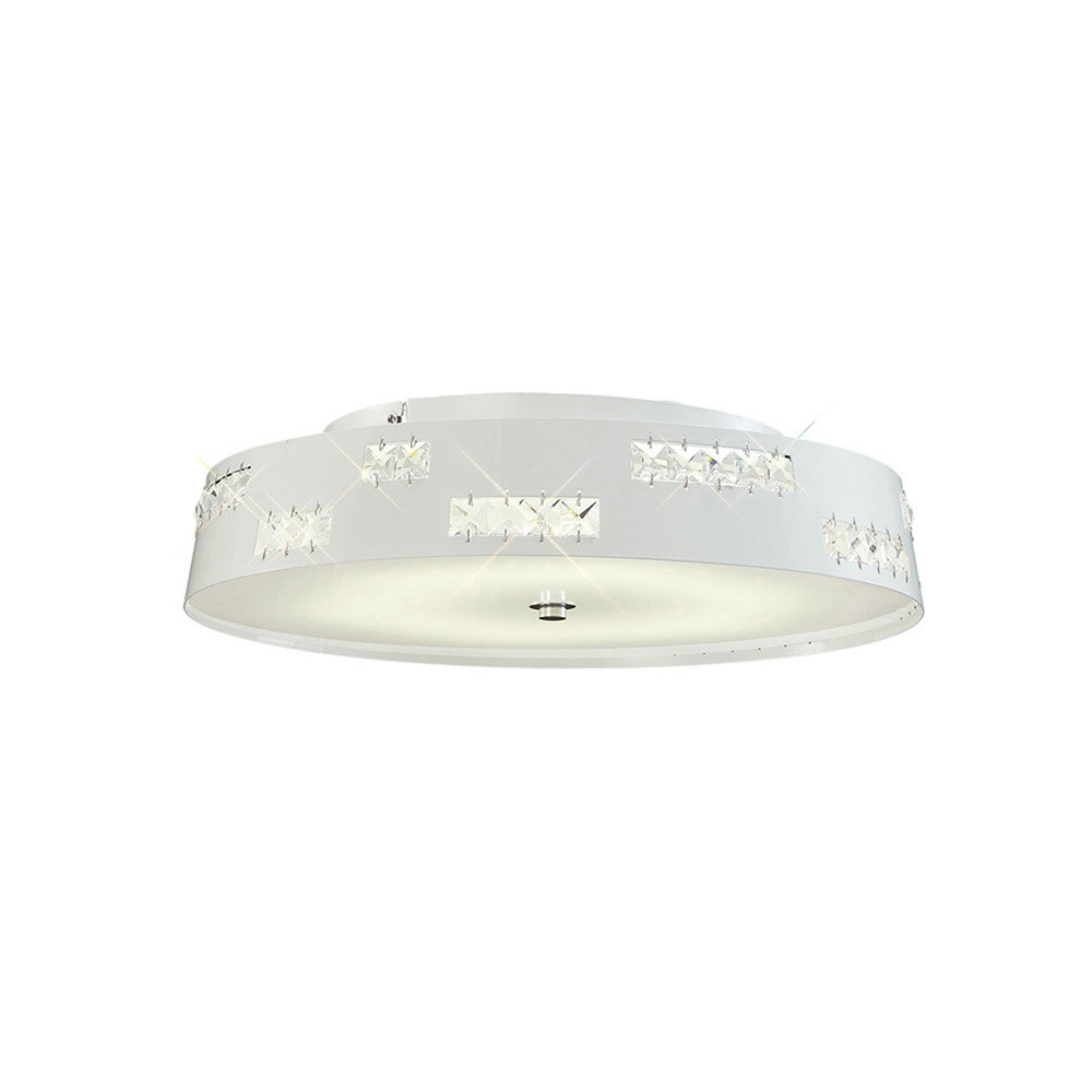 Phoenix Ceiling 18W LED 4000K White/Crystal