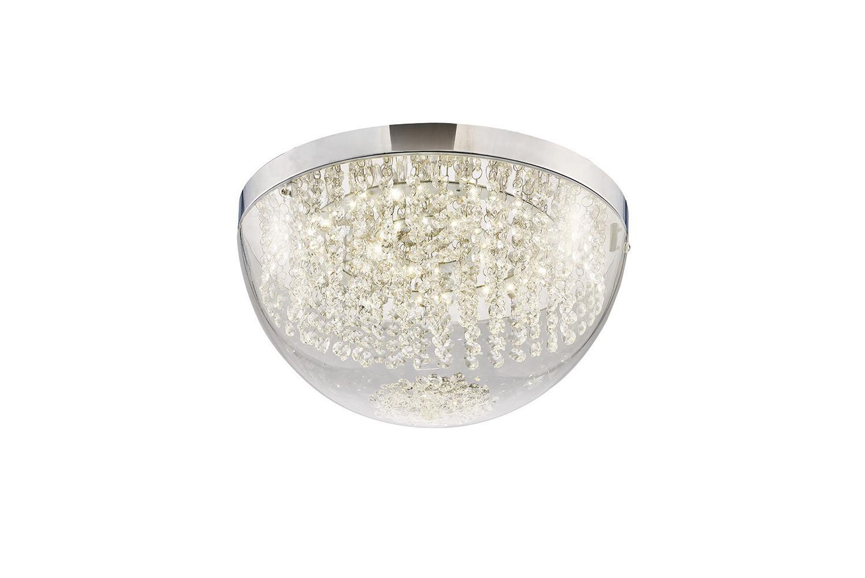 Harper Large Ceiling 21W 1600lm LED 4000K Polished Chrome/Crystal