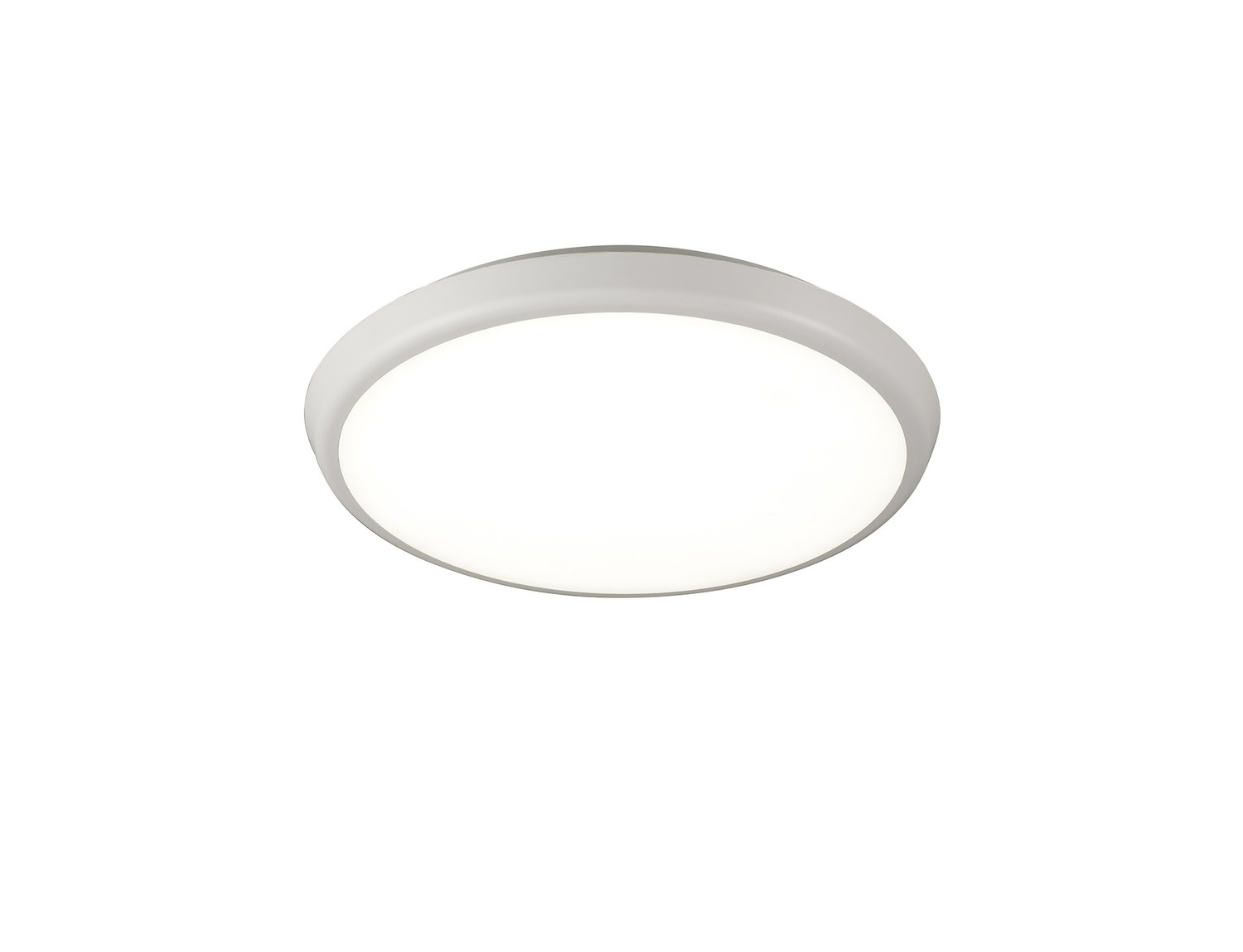 Aneto Ceiling, 30cm Round, 18W LED 4000K, 1700lm, IP65, White, 3yrs Warranty