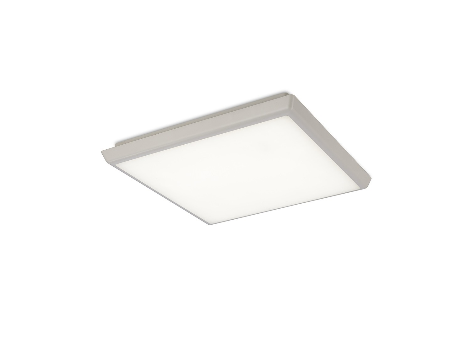 Aneto Ceiling, 30cm Square, 18W LED 4000K, 1700lm, IP65, White, 3yrs Warranty