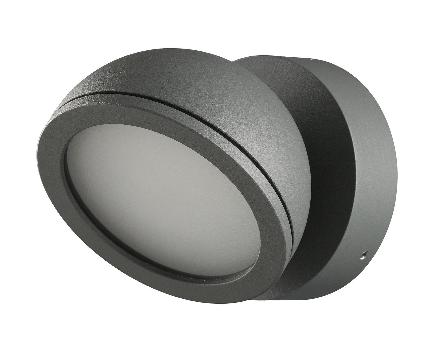 Everest Wall Lamp for GX53 LED lightsource, IP54, Anthracite