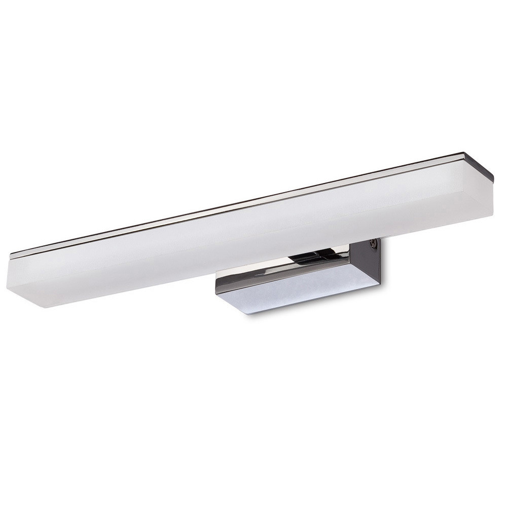 Taccía Wall Lamp 5W LED Small 3000K IP44, 450lm, Polished Chrome/Frosted Acrylic, 3yrs Warranty