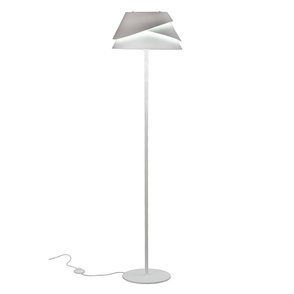 Alboran Floor Lamp 1xE27 White
