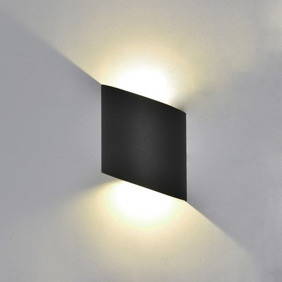 Sochi Wall Lamp, 6W LED, 3000K, 660lm, IP54, Anthracite or Sand White, 3yrs Warranty