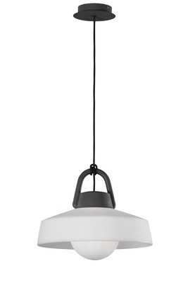 Kinke Pendant, 1 x E27, IP65, Anthracite, 2yrs Warranty