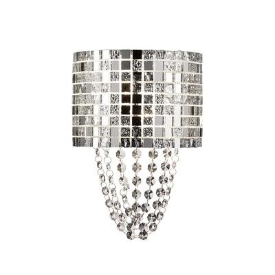 Camden Wall Lamp 2 Light G9 Mosaic Glass/Crystal