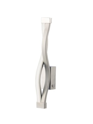 Sahara Touch Dimmer Wall Lamp 6W LED 3000K, 420lm, Silver/Frosted Acrylic/Polished Chrome, 3yrs Warranty
