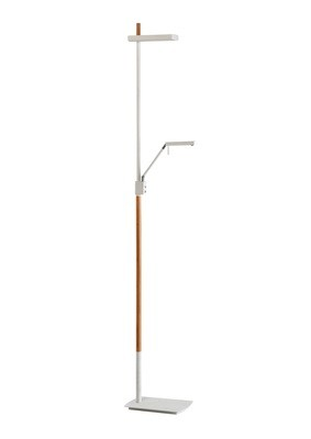 Phuket Floor Lamp 2 Light 21W Down 7W Up LED 3000K, 3000lm, 3yrs Warranty