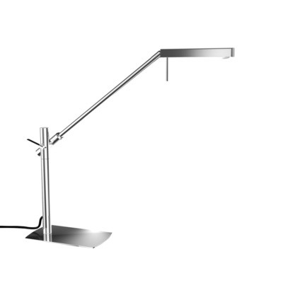 Phuket Table Lamp 1 Light 7W LED 3000K, 600lm, Polished Chrome, 3yrs Warranty