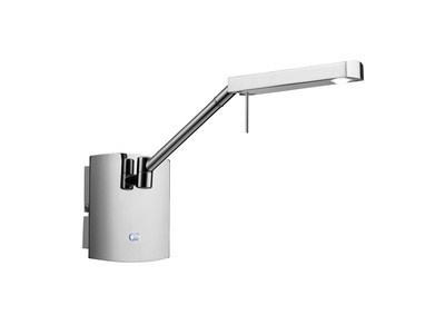 Phuket Wall Lamp 1 Light 7W LED 3000K, 600lm, Polished Chrome, 3yrs Warranty
