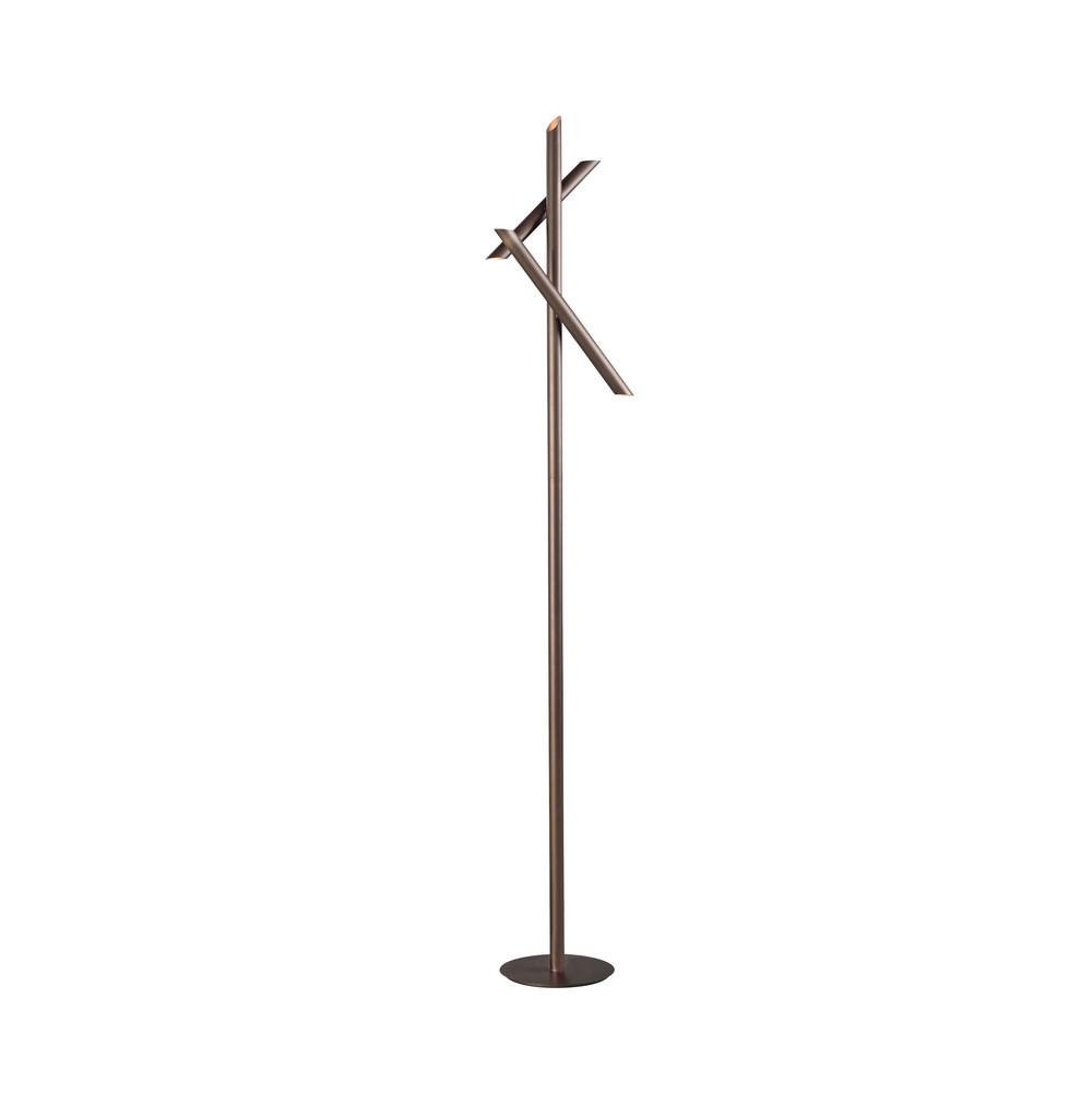 Take Bronze Floor Lamp 15W LED 3000K, 1350lm, Dimmable, Bronze, 3yrs Warranty