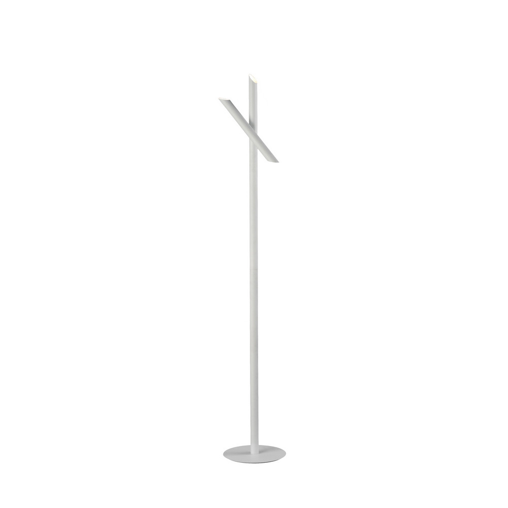 Take Blanco Floor Lamp 9W LED 3000K, 800lm, Dimmable, White, 3yrs Warranty