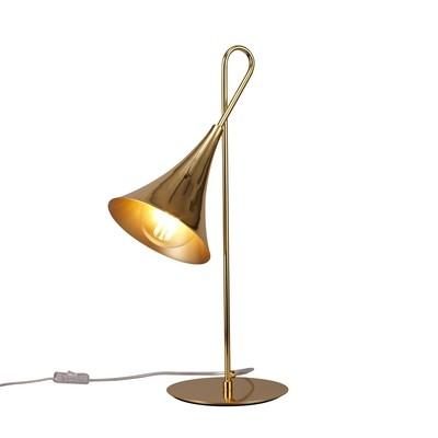 Jazz Oro Table Lamp 1 Light E27, Gold