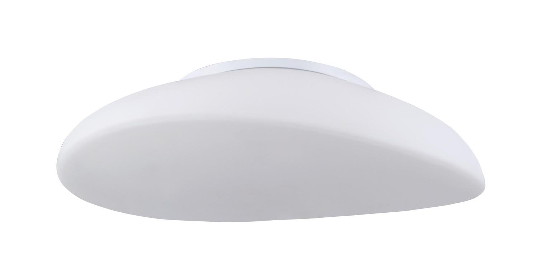 Opal Ceiling 4 Light E27, Polished Chrome/Frosted White Glass
