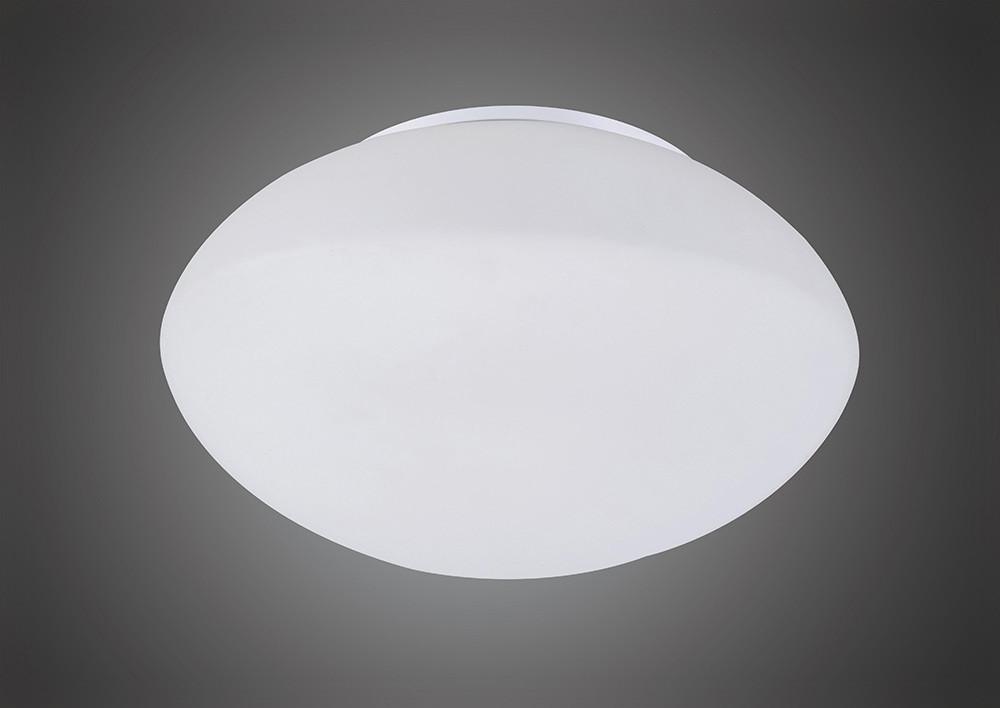Opal Ceiling/Wall 1 Light E27, Polished Chrome/Frosted White Glass