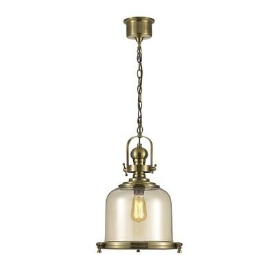 Riley Single Medium Bell Pendant 1 Light E27