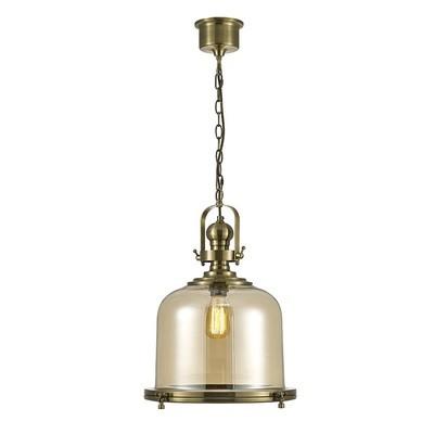 Riley Single Large Bell Pendant 1 Light E27