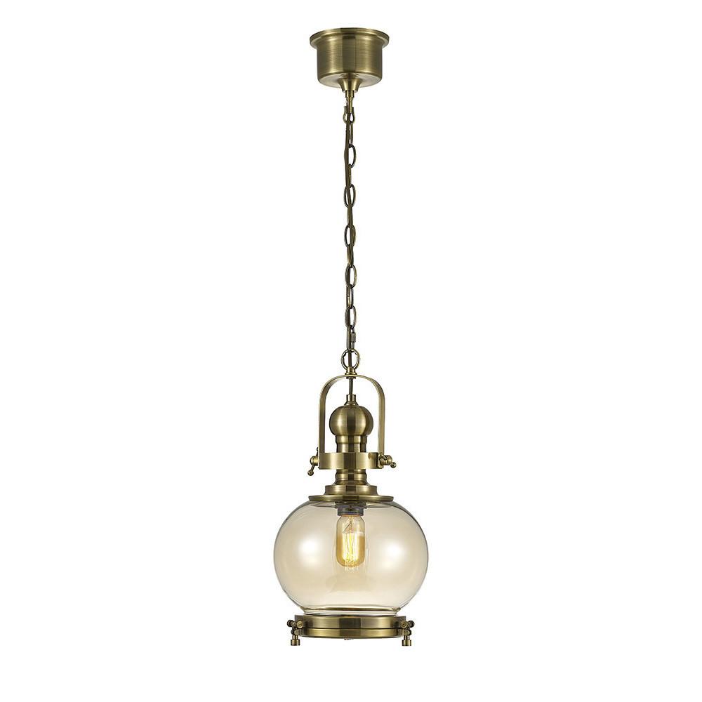 Riley Single Small Ball Pendant 1 Light E27