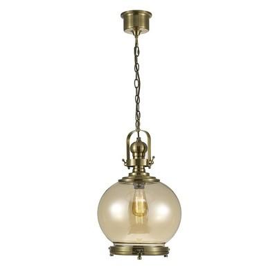 Riley Single Medium Ball Pendant 1 Light E27