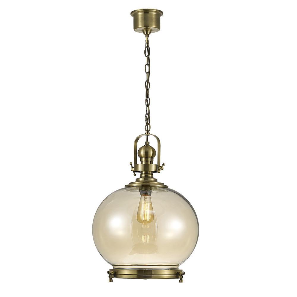 Riley Single Large Ball Pendant 1 Light E27