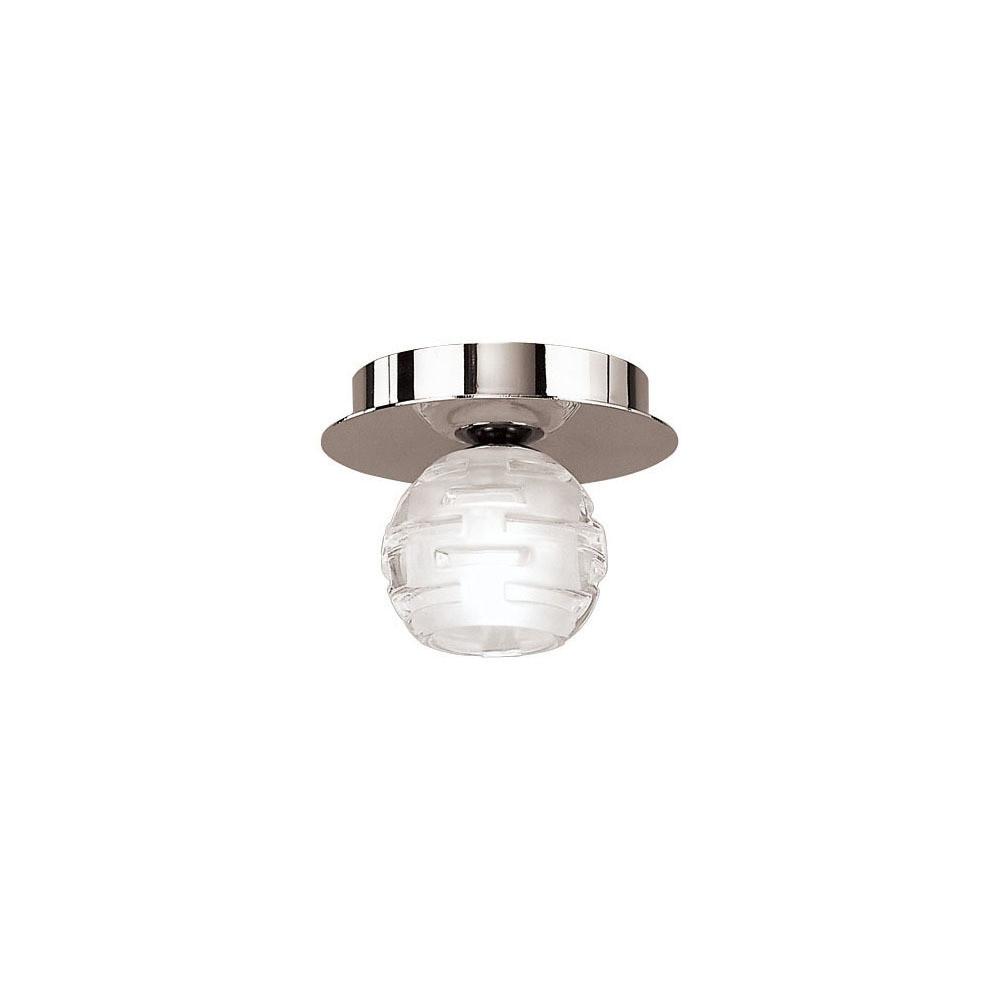 Dali Ceiling 1 Light G9, Polished Chrome