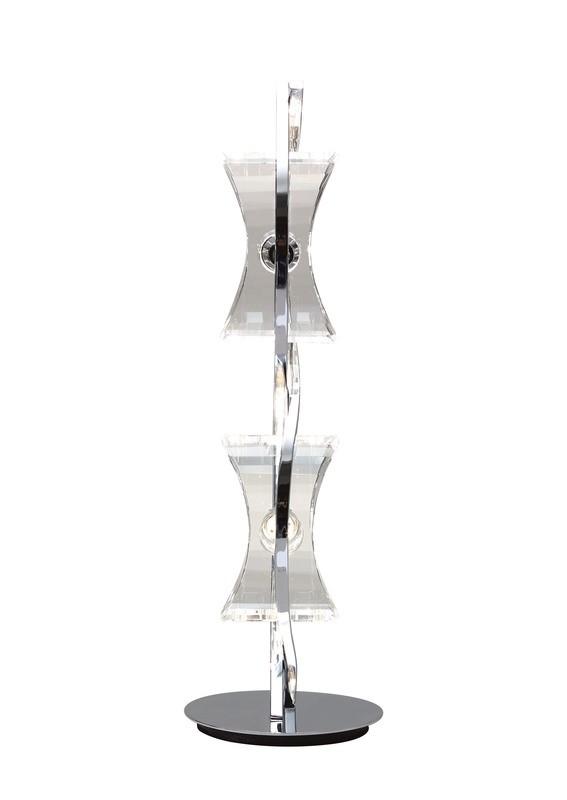 Kromo Table Lamp 2 Light G9 Looped Frame