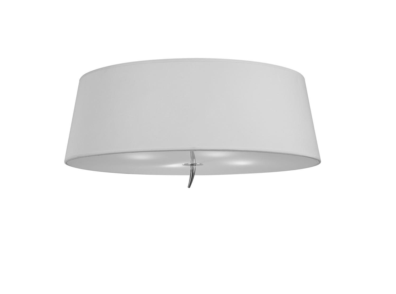 Ninette Ceiling 4 Light E27, With Ivory White Shade