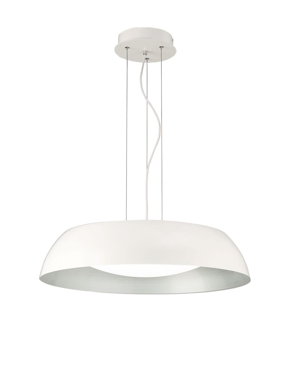 Argenta Pendant Large 30W LED 3000K, 3000lm, Matt White/Silver/White Acrylic