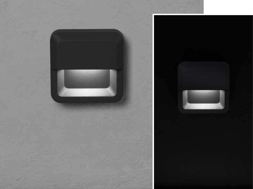 ALCOR Wall-mounted luminaire 3W 250lm